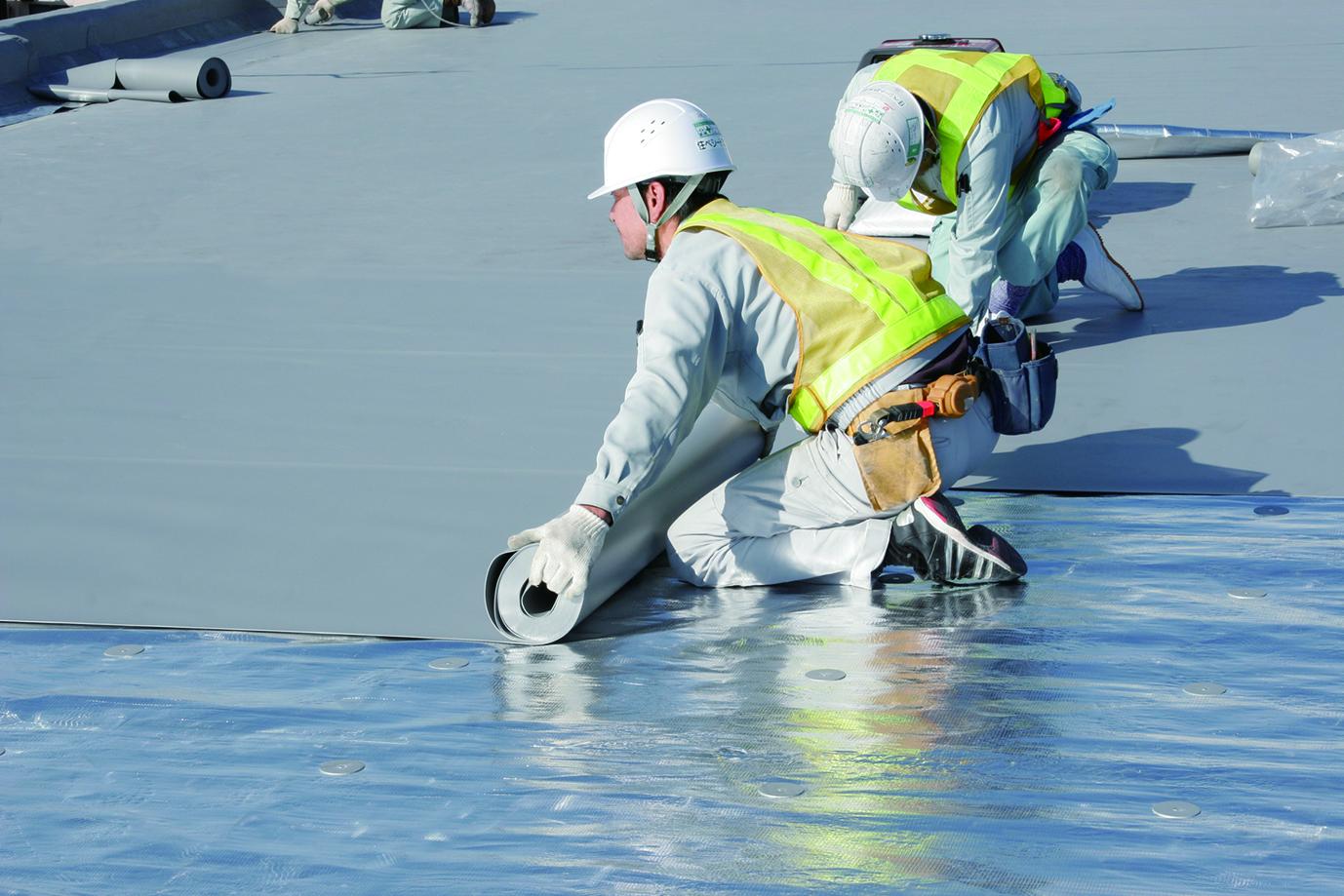 塩ビシート防水|エム・ピー・アソシエイト