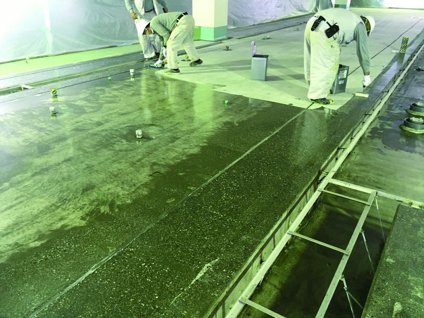 塗床工事|エム・ピー・アソシエイト